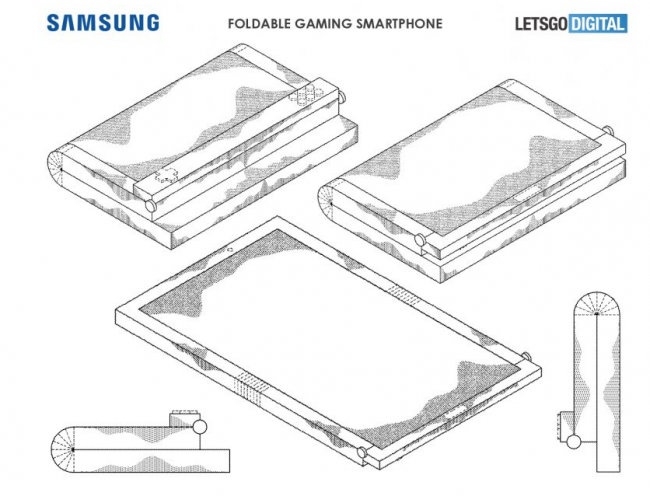 smartphone flexible samsung patente