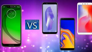 Comparativa entre el Moto G7 Play VS bq Aquaris C, Galaxy J4+ y Redmi 6