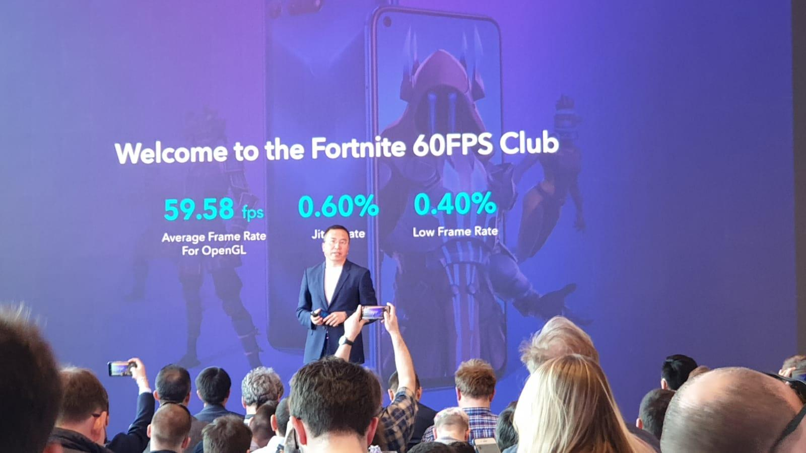 Honor Fortnite 60fps