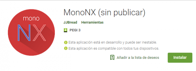 MonoNC Emulador Switch en Android