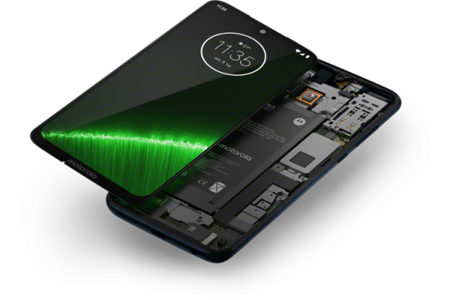 Moto G7 Plus interior