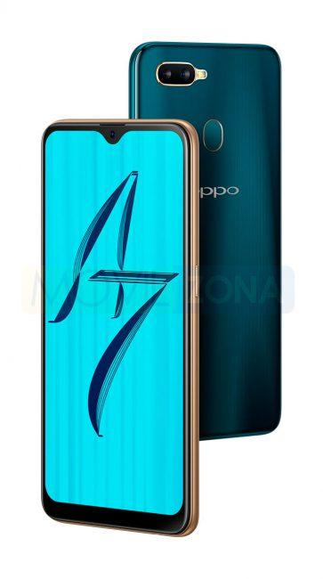 Oppo A7 negro