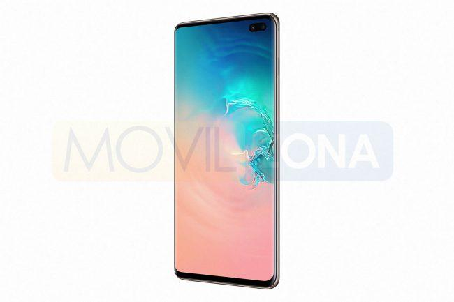 Samsung Galaxy S10 Plus vista lateral