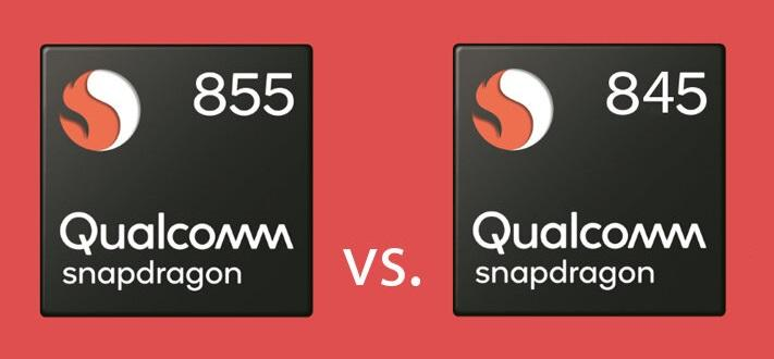 Snapdragon 845 vs 855