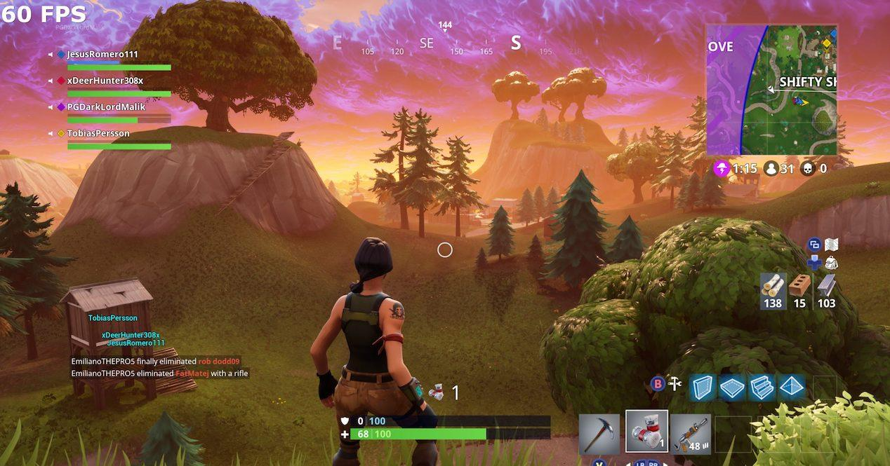 Fortnite a 60 fps: Diferencias entre iPhone y Android