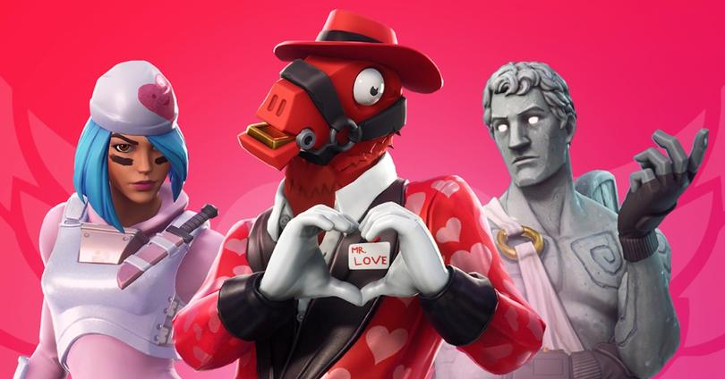 san valentin fortnite