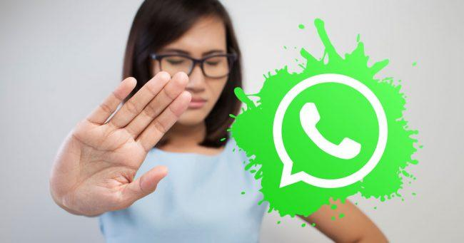 stop whatsapp