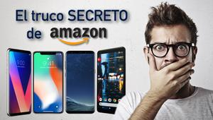 El truco secreto para encontrar móviles baratos en Amazon