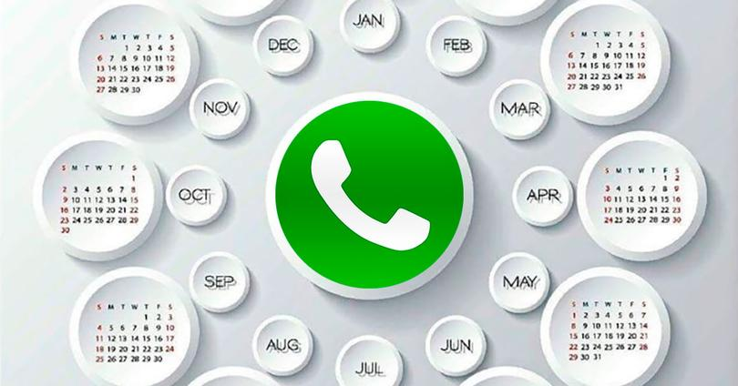 calendario whatsapp