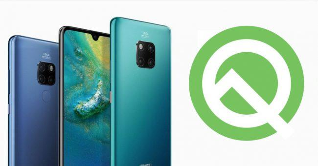 Huawei Android-OS Q