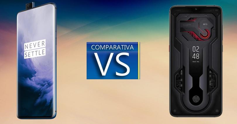 comparativa OnePlus 7 Pro vs Mi 9 Transparent Edition