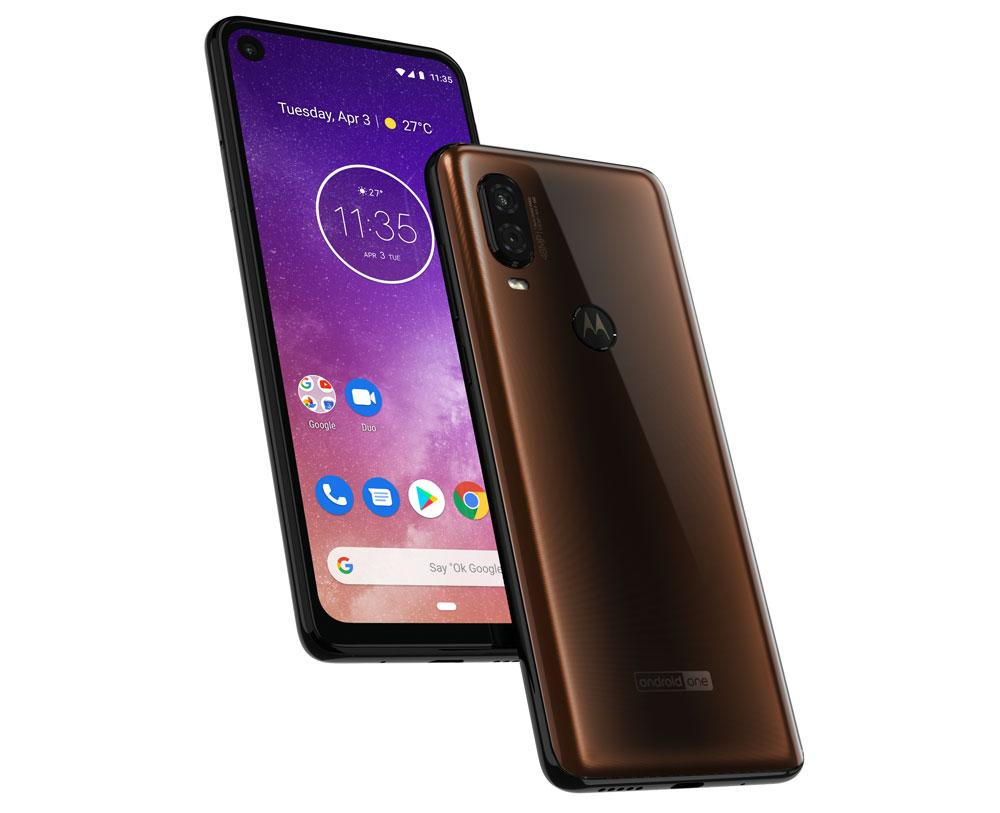 Motorola One Vision de color bronce