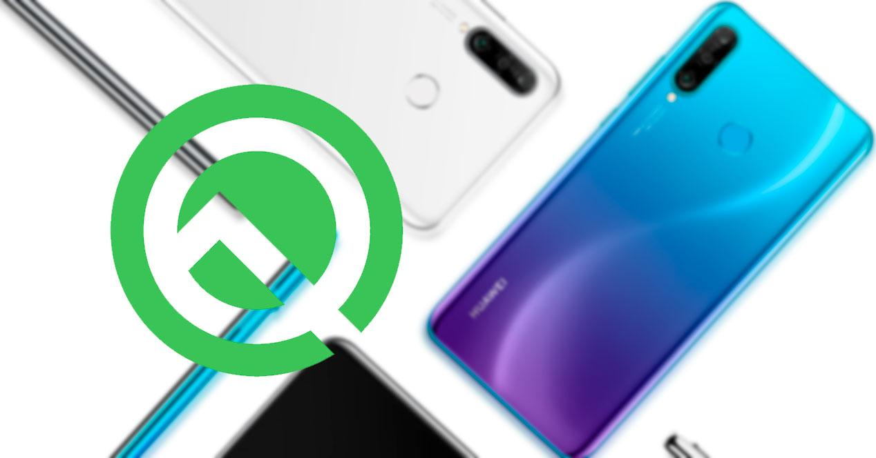 Android Q Huawei P30 Lite