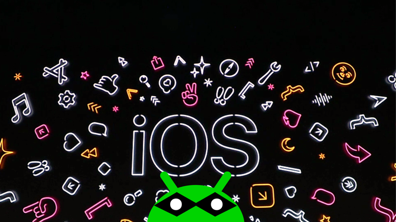 iOS 13 Android