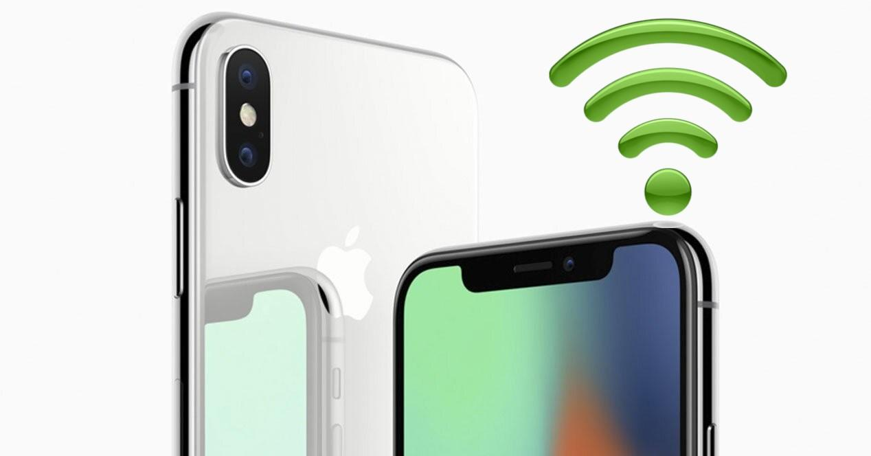 iPhone X portada wifi