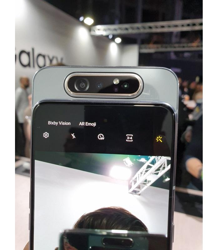 Galaxy A80 cámara frontal