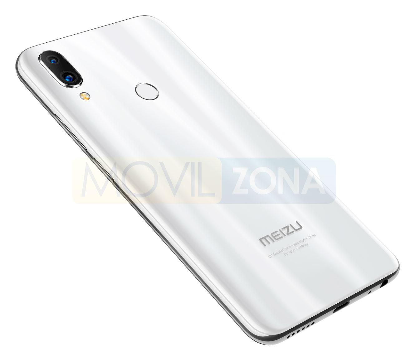 Meizu Note 9 blanco doble cámara