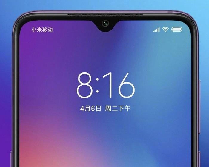 Mi 9 pantalla notch