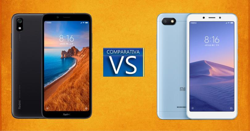 Redmi 6A vs Redmi 7A