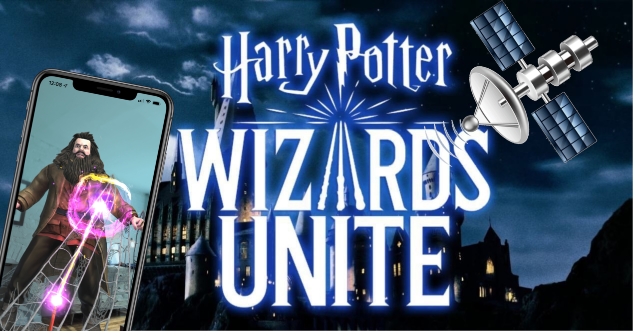 harry potter wizards satelite