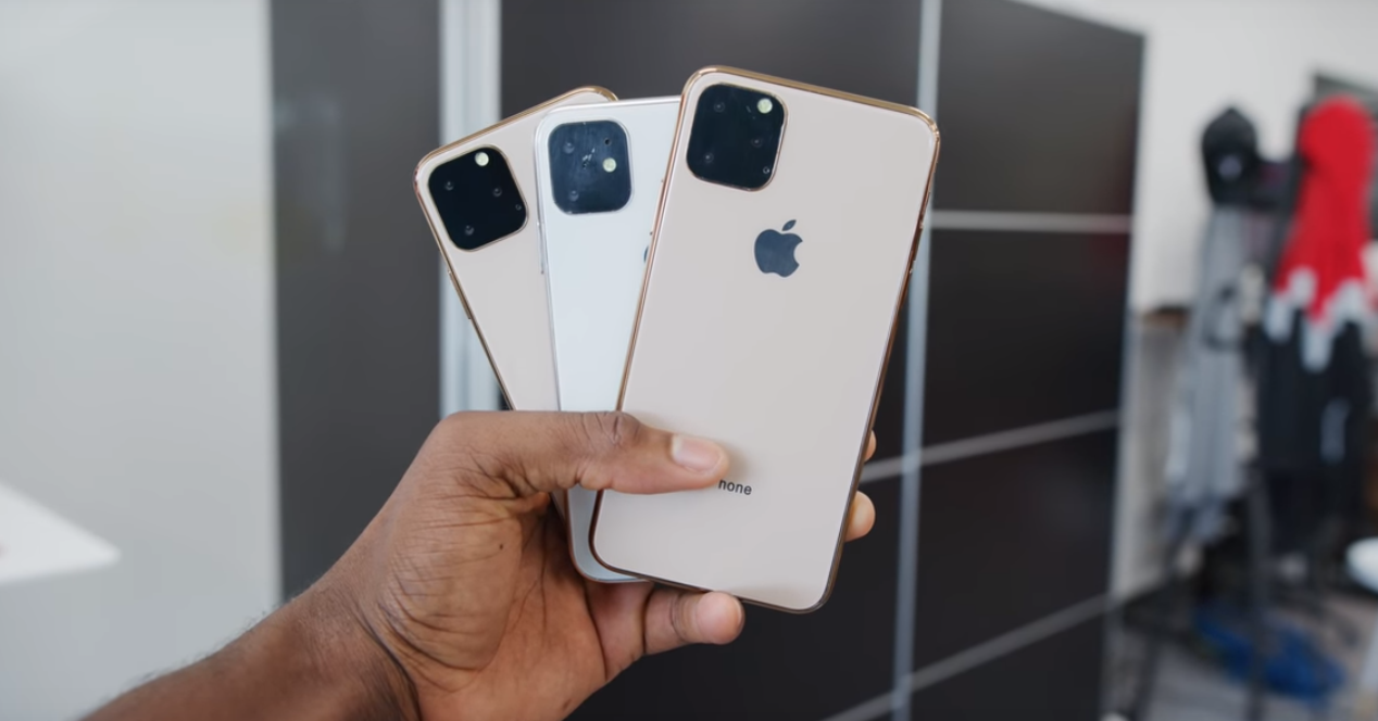 iPhone 11 trio