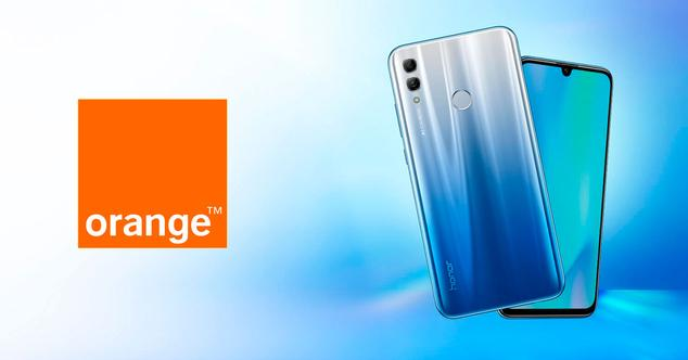honor 10 lite orange