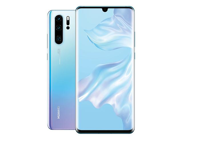 frontal y trasera del Huawei P30 Pro