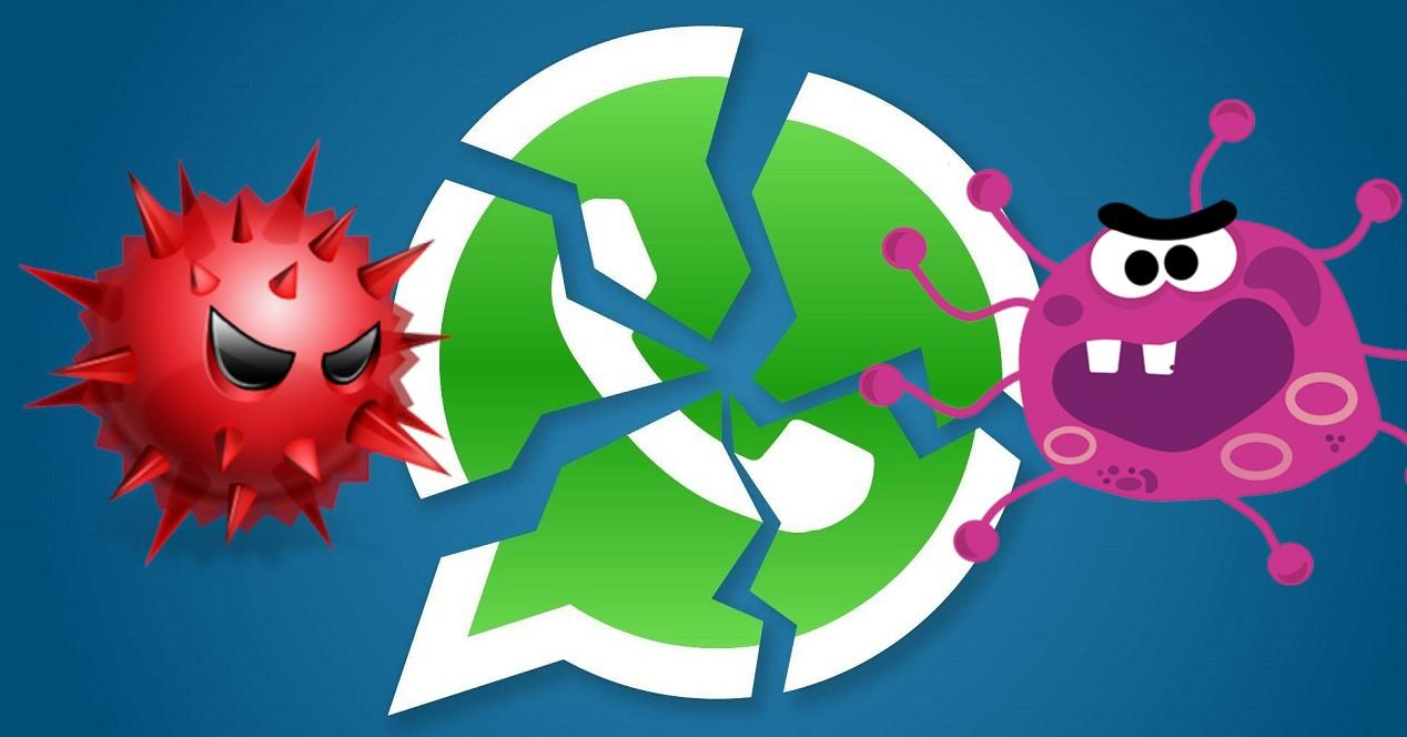 virus y malware en WhatsApp