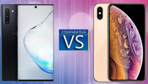 Samsung Galaxy Note 10 vs iPhone XS: ¿cuál comprar a precio similar?
