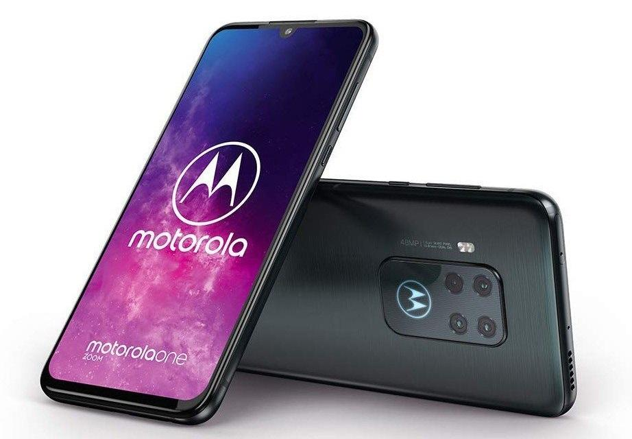 Motorola One Zoom colores