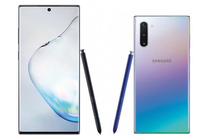 Galaxy Note 10 y note 10 plus