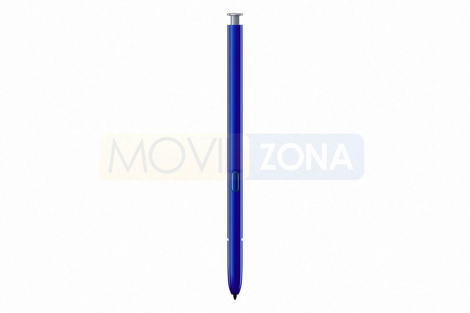 Samsung Galaxy Note 10 Plus lápiz azul