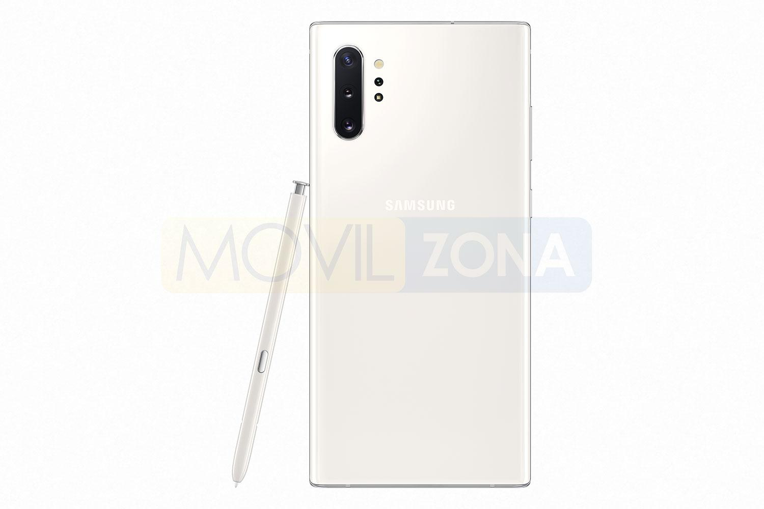 Samsung Galaxy Note 10 Plus blanco