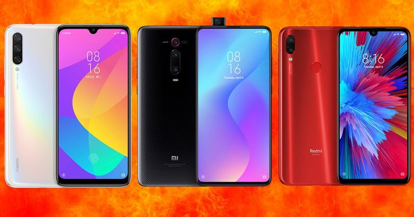 Xiaomi Mi A3 vs Mi 9T vs Redmi Note 7