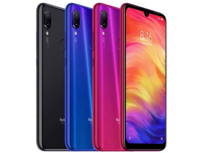 Redmi Note 7 en tres colores diferentes