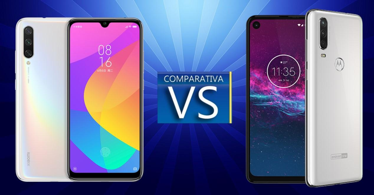 XiaomiMI A3 vs Motorola One Action