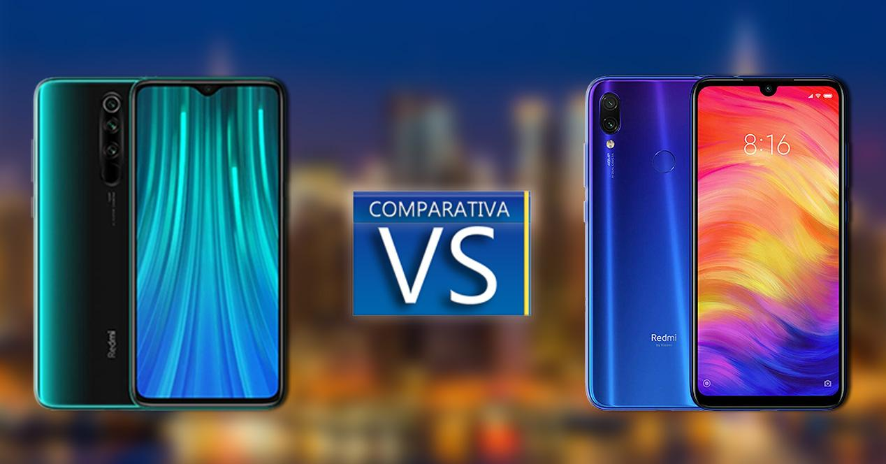 Comparativa Redmi Note 8 vs Redmi Note 7