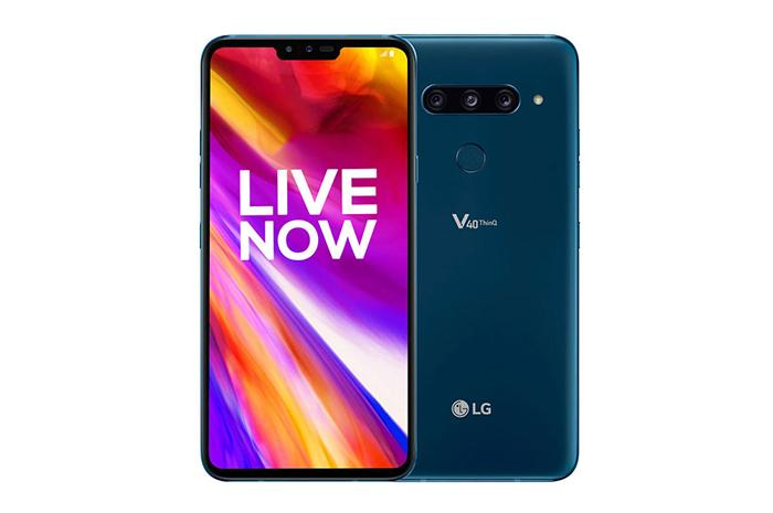Frontal y trasera en azul del <strong>LG℗</strong> V40 ThinQ» width=»700″ height=»465″ srcset=»https://www.movilzona.es/app/uploads/2019/08/lgv40thinq.jpg 700w, https://www.movilzona.es/app/uploads/2019/08/lgv40thinq-300×199.jpg 300w, https://www.movilzona.es/app/uploads/2019/08/lgv40thinq-650×432.jpg 650w, https://www.movilzona.es/app/uploads/2019/08/lgv40thinq-500×332.jpg 500w» sizes=»(max-width: 700px) 100vw, 700px»/></p> <p> <a href=
