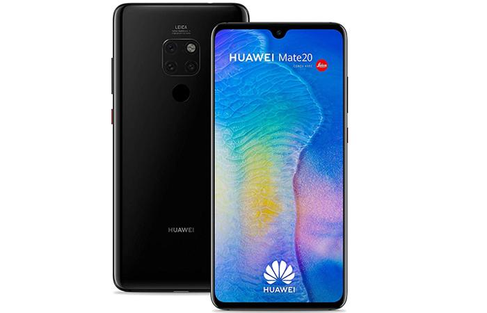 Frontal y trasera del Huawei Mate 20