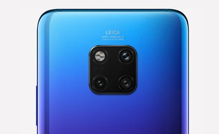 Parte traser del Huawei Mate 20 Pro