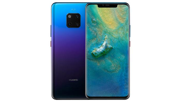 Frontal y trasera del Huawei Mate 20 Pro