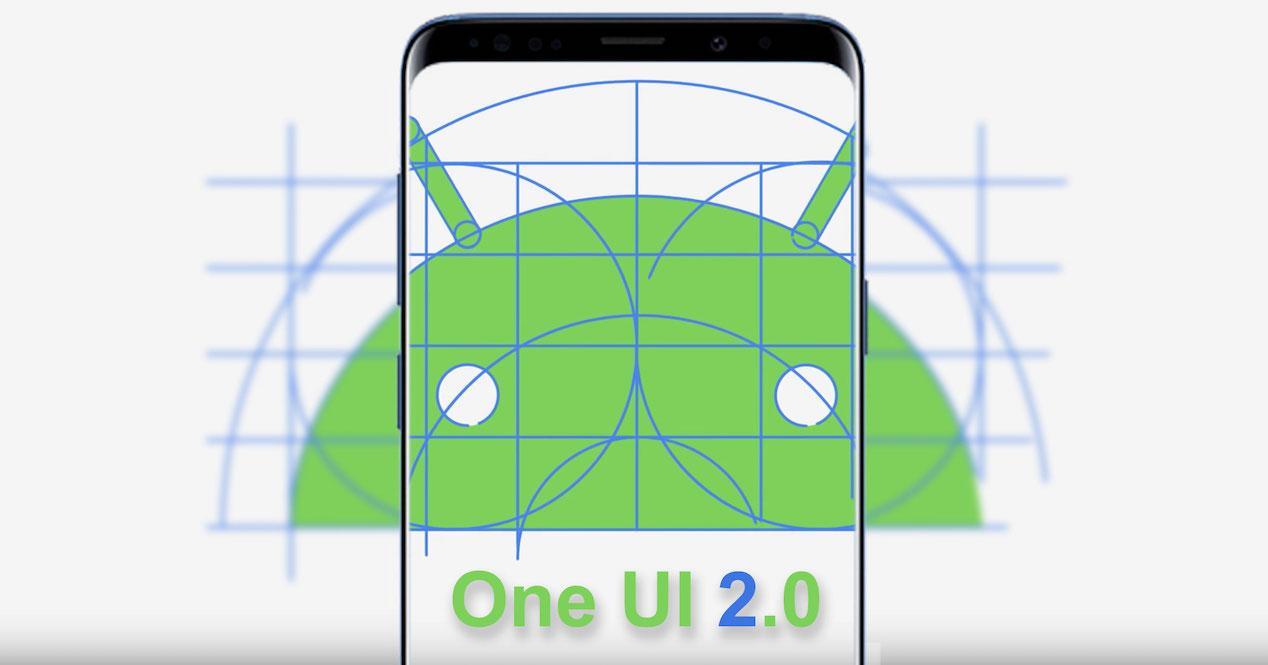 one ui 2.0 muñeco android
