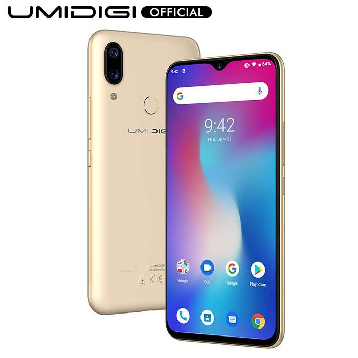 Frontal y trasera del Umidigi Power