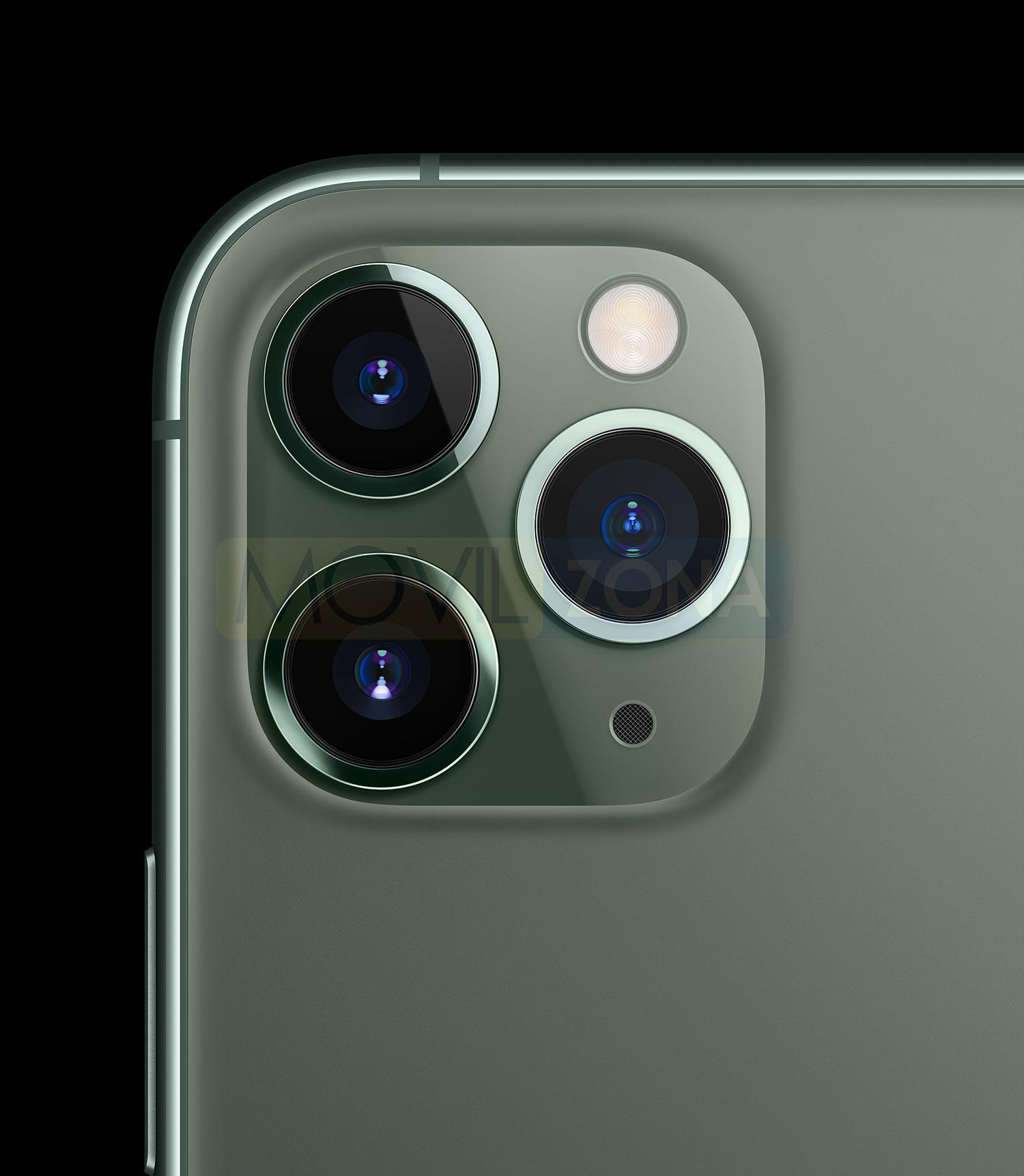 Apple iPhone 11 Pro cámara con tres lentes