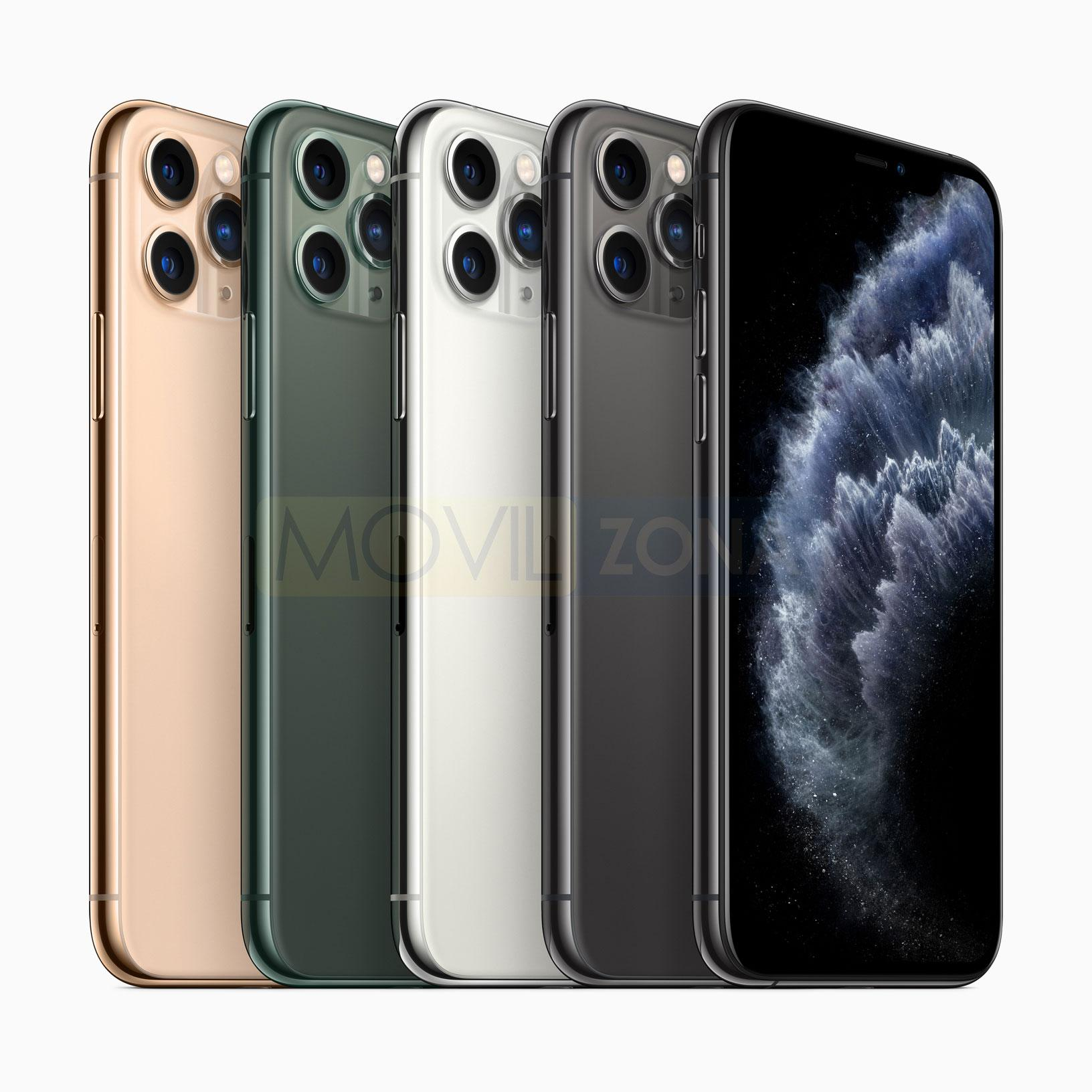 Apple iPhone 11 Pro Max colores