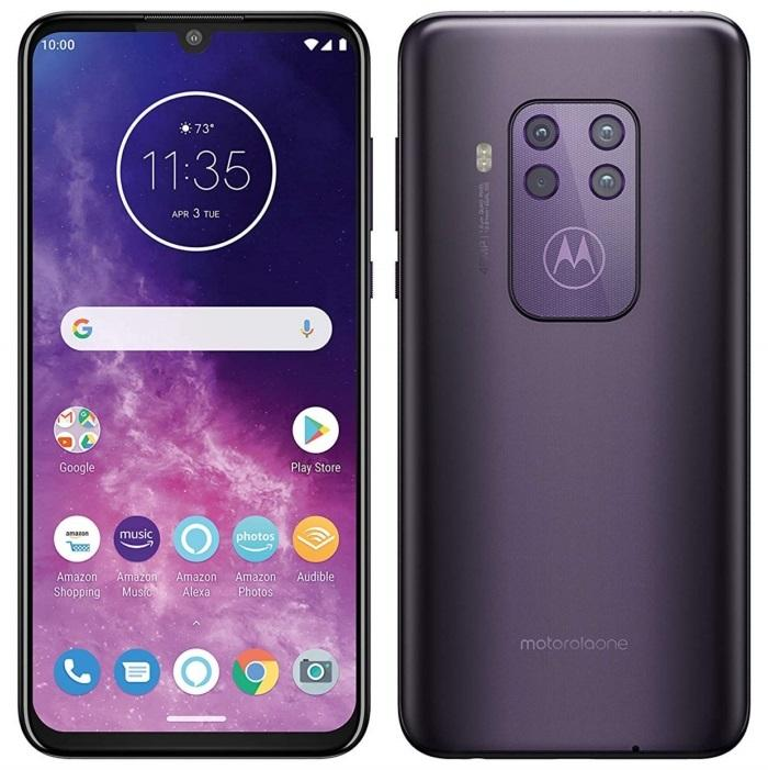 Motorola One Zoom morado