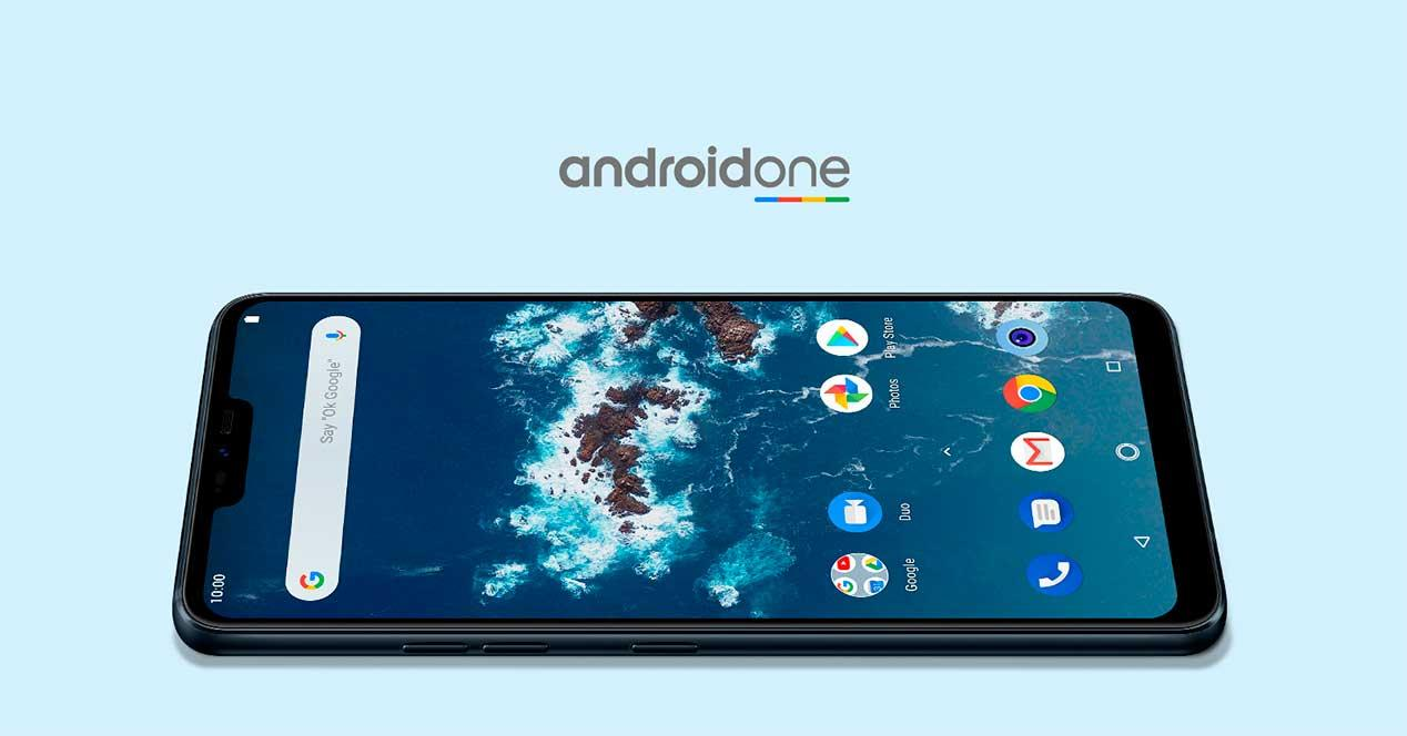 Móviles con Android One