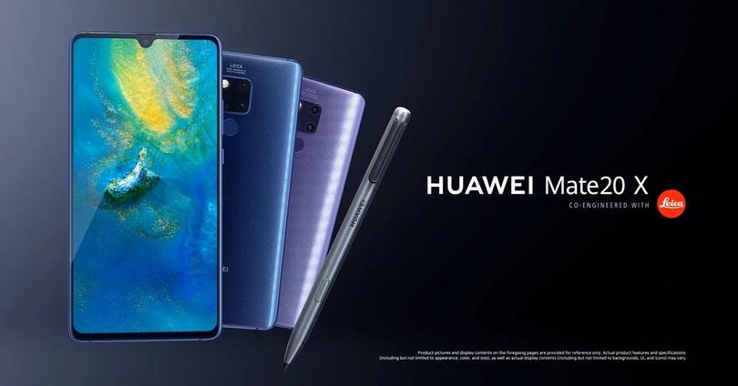 Frontal y trasera del Huawei Mate 20 X