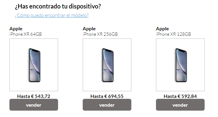 iPhone XR en Locompramos