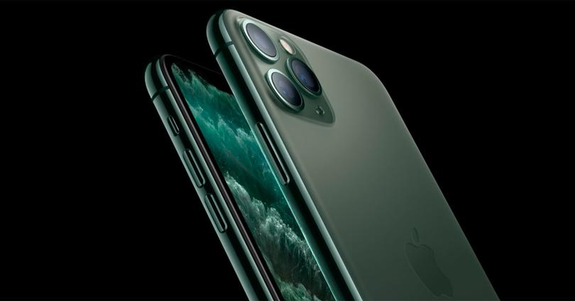 iPhone 11 Pro de color verde